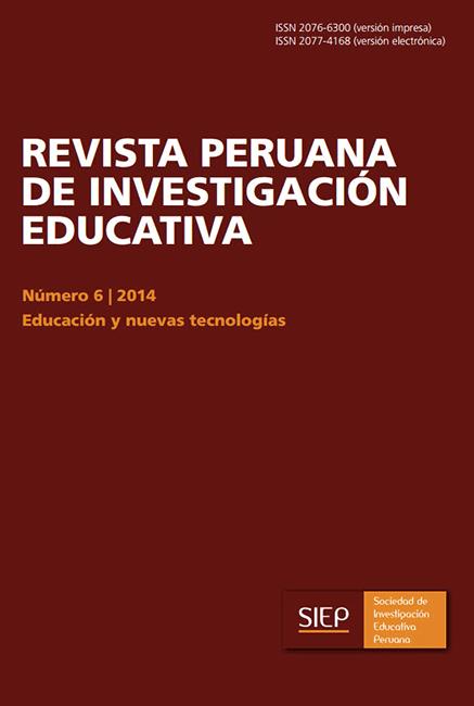 Ver Vol. 6 Núm. 6 (2014): Educación y nuevas tecnologías